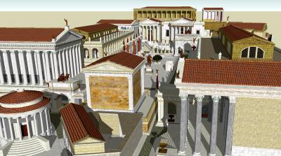 Starożytny Rzym, wikimedia commons.